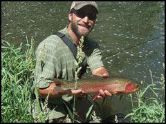 Gunnison River Rainbow Trout, Fly Fishing Float Trip
